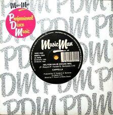"""CAPPELLA - HELYOM HALIB 7"""" VINYL SINGLE 1980s EX/EX"""