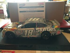 Kyle Busch Skittles/Zombie RCCA Texas Raced Win Version #18 Toyota Camry  1/24