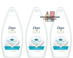 Dove CARE & AND PROTECT Body Wash Antibacterial 450ml - 3 Pack