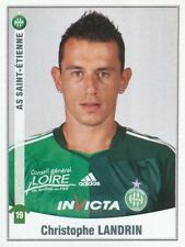 433 CHRISTOPHE LANDRIN AS.SAINT-ETIENNE ASSE STICKER FOOT 2011 PANINI