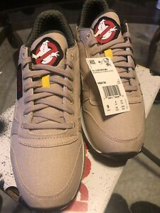 Reebok Classic Leather Ghostbusters Sneakers US 9 Authentic Brand New In Hand