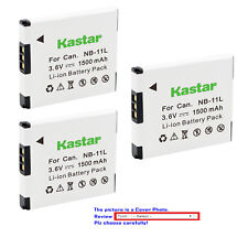 Kastar Replacement Battery for Canon NB-11L NB-11LH Canon IXUS 125 HS IXUS 132