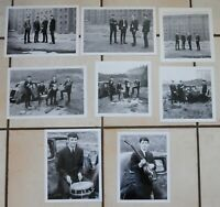 Beatles at the Liverpool Docks 1962, Foto Session, Set von 8 raren s/w Fotos