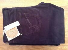 James Cured By Seun ' james cord' womens navy boot cut trousers 36' 36L