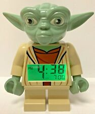 "Star Wars Lego 9003080 Digital YODA Alarm Clock Clone Wars 2013 7"" Tall"