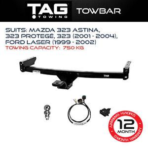 TAG Towbar Fits Mazda 323 Astina 323 Protegé 2001 - 2004 Towing Capacity 750Kg