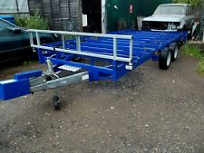Ifor Williams flatbed trailer. LM 167G