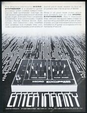 1979 Electro Harmonix Micro Synthesizer photo vintage print ad