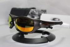 New Oakley Pit Bull Gunmetal FMJ w/Fire Iridium Asian Fit 009161-03 Sunglasses