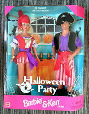 BARBIE HALLOWEEN PARTY gift set 1998 NRFB NUOVA PERFETTA