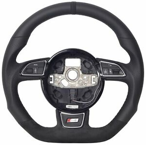 Steering wheel fit to Audi A4 S4 B8 Leather 20-2827