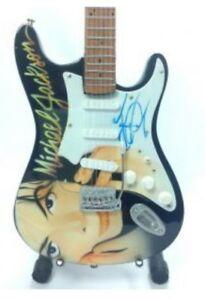 Michael Jackson Tribute Miniature Guitar (UK SELLER)