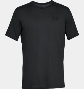 UNDER ARMOUR SPORTSTYLE T-SHIRT MENS BLACK