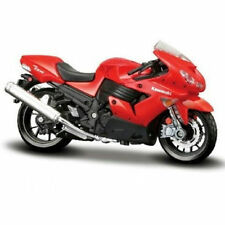 MAISTO 1:18  Kawasaki Ninja ZX 14R Red MOTORCYCLE BIKE DIECAST MODEL NEW IN BOX