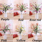 1PC Realistic Artifical Plastic Plant Silk Flower Wedding Home Party Decoration