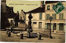 CPA  Neuilly-Saint-Front - Fontaine de la Ville (202574)