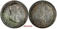 MEXICO EMPIRE OF ITURBIDE Silver 1822 Mo JM 8 Reales Nice Toned RARE KM# 304
