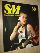 741041 SM STORIA DELLA MUSICA N°38 EUROPE PANCERI GINO PAOLI RADIOHEAD FURTADO