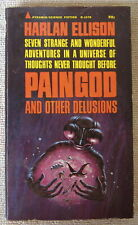 Paingod and Other Delusions (Inscribed by Harlan Ellison) Pb 1st Pyramid