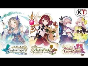Atelier Mysterious Trilogy Pack Nintendo Switch Asian English