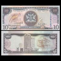 Trinidad and Tobago 10  Dollar, 2006, P-48, UNC