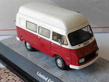 HANOMAG F25 CAMPING 1965 RED WHITE PREMIUM CLASSIXXS 13475 1/43 CAR HENSCHEL