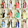 New Summer Women's Casual Long Sleeve Cardigan Ladies Thin Sweater Coat Outwear