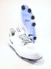 Nike Air Zoom Direct Golf Shoes Spikes White 923966-100 Mens Size 7 Wide New