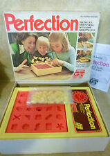 Perfection by Action GT 1980s Vintage game Complete all working : Match Shapes