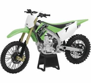 NEW RAY TOYS KAWASAKI 2019 KX450 MX RACE DIRT BIKE REPLICA 1:12 SCALE 58103