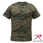 Rothco Mens Woodland Digital Camo Short Sleeve T-Shirt