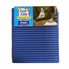 "Foam Litter Mat Cat Potty Training Floor Protection Kitty Blue Kit NEW 40"" x 25"""