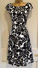 JIGSAW KEW Floral Fifties Style Dress Size 10 BNWT Pockets Wedding Party Races