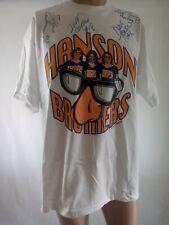 Hanson Brothers Slapshot 1977 Signed Autographed T Shirt XL 101 WRIF Detroit
