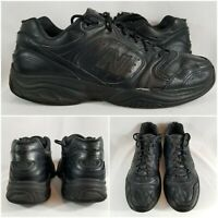 New Balance 623 Black Leather Cross Walking Running Trainer Shoes Men's Sz 11.5