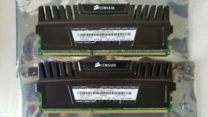 Corsair Vengeance 8GB DDR3 1600Mhz PC3-12800 CL9 Dual Channel Kit (2x4GB) Black