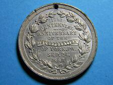 1887 Centennial New York Incorporation Medal PA (0220)
