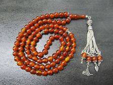 99 ANTIQUA BAKELITE BAKELIT GEBETSKETTE PRAYER BEADS ARAB SUBHA TÜRK TESBIH ISLA