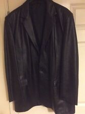 Men's Lambs Leather Jaeger Jacket XL Very well kept Mint condition!