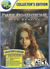 Dark Dimensions Wax Beauty PC Games Windows 10 8 7 XP Computer hidden object