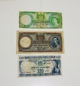 Fiji Mixed Banknotes