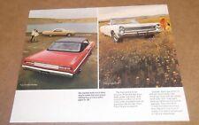 RARE-1968 PLYMOUTH FURY III ORIGINAL VINTAGE ADVERTISEMENT AD 68 CONVERTIBLE HAR