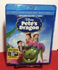 Petes Dragon (Blu-ray Disc,2012,2-Disc Set,35th Anniversary Edition)NEW-Free S&H