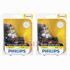 2 pc Philips Cornering Light Bulbs for Jaguar XK XKR XKR-S 2007-2015 ix
