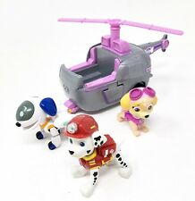 Paw Patrol Skye w/ Helicopter & Robodog Marshall Figures Spin Master Toys