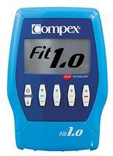 COMPEX ELETTROSTIMOLATORE FIT 1.0 - 4 CANALI + ELETTRODI OMAGGIO GARANZIA 3 ANNI
