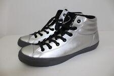 Converse All Star Fresh Hi Top Shoe Silver Thunder Black 152661C - Men's Size 13