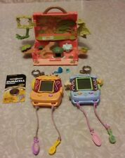 Littlest pet shop, LPS, electronic pet monkey and tlc puppy.With monkey playset.