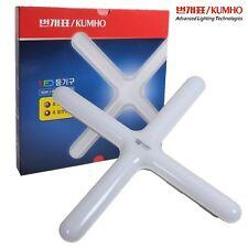 Kumho Bungae Thunderbolt 50W LED Room Light Modern Cross Ceiling Lamp 230V 6500K