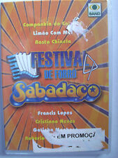 Festival de Forro Sabadaco DVD Brazil New Sealed 2005 Dolby 14 Songs